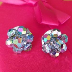 Fun beaded clip on earrings